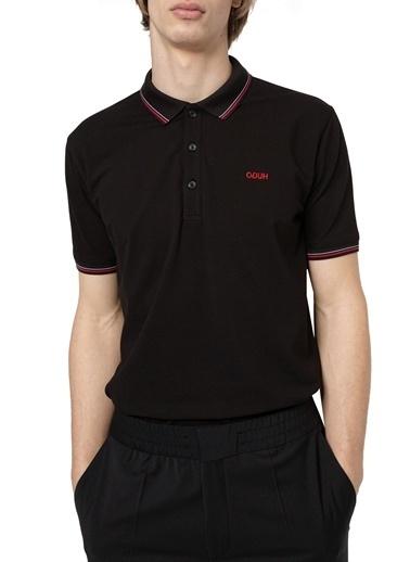 Hugo Boss  Pamuklu Slim Fit Polo T Shirt Erkek Polo 50448780 001 Siyah